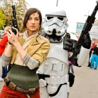 Star Wars Darsteller von Regrets of the Past. Foto Joanna Pianka