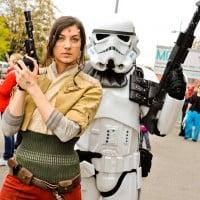 Star Wars Darsteller von Regrets of the Past. Foto Joanna Pianka