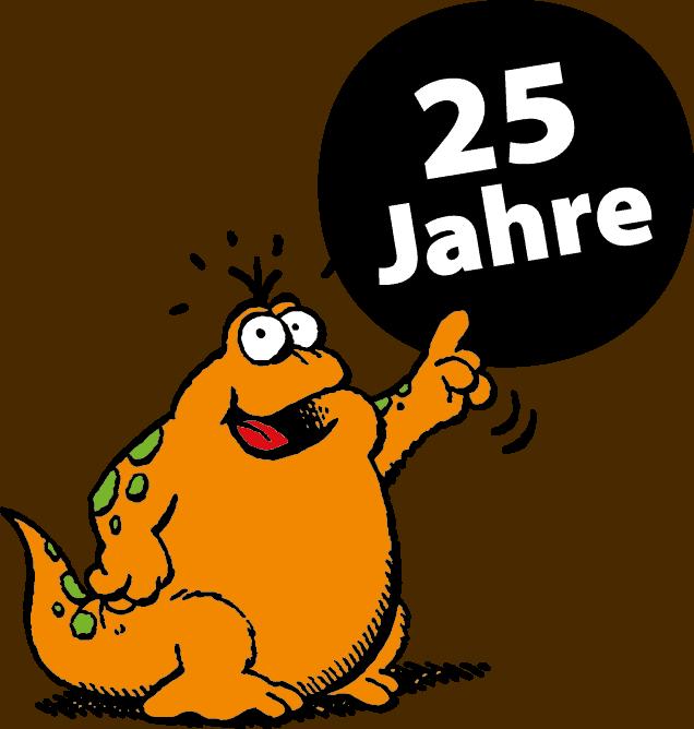 25 Jahre Vienna COMIX - Logo