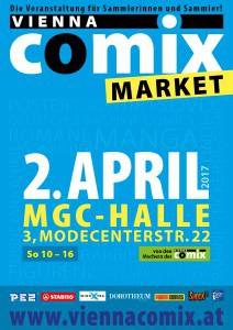 COMIX MARKET Flyer April 2017
