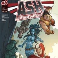 ASH 5 Cover (c) Austrian Superheroes
