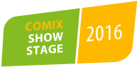 COMIX Show Stage Logo