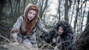 Tsuyas Cosplaywerkstatt - Ygritte and Jon Snow. Foto Azur Cosplay Photography