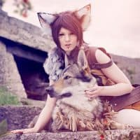 Nana Kuronoma - Warrior Cat. Foto Harrasaki Photographie und Chiography