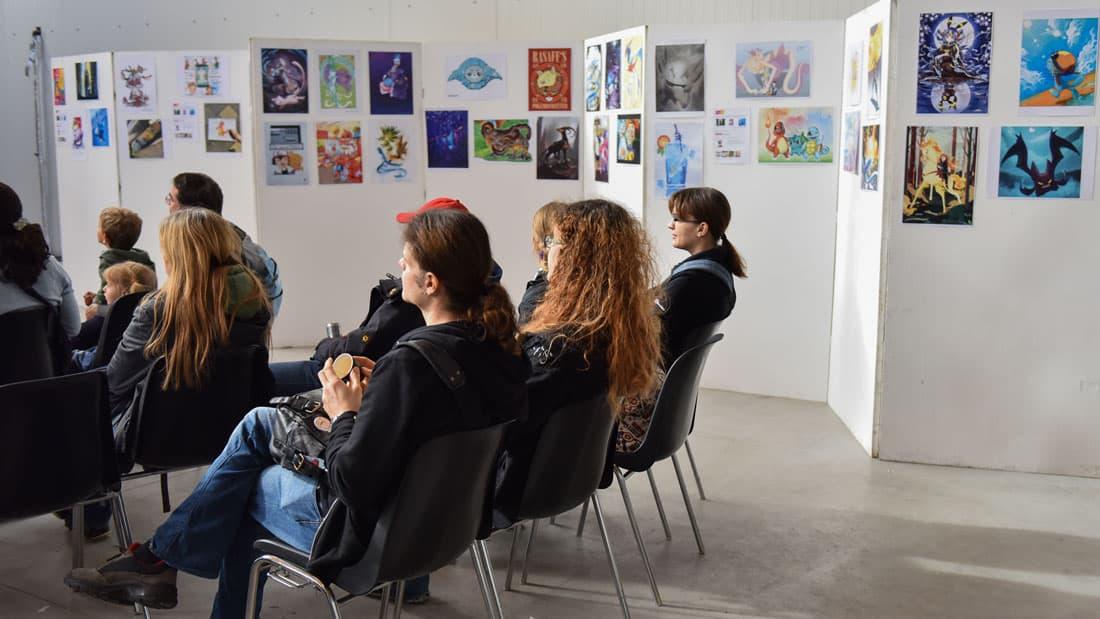 COMIX Character Award Ausstellung. Foto Joanna Pianka
