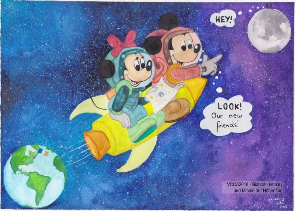 VCCA2018 - Bianca - Mickey und Minnie auf Höhenflug
