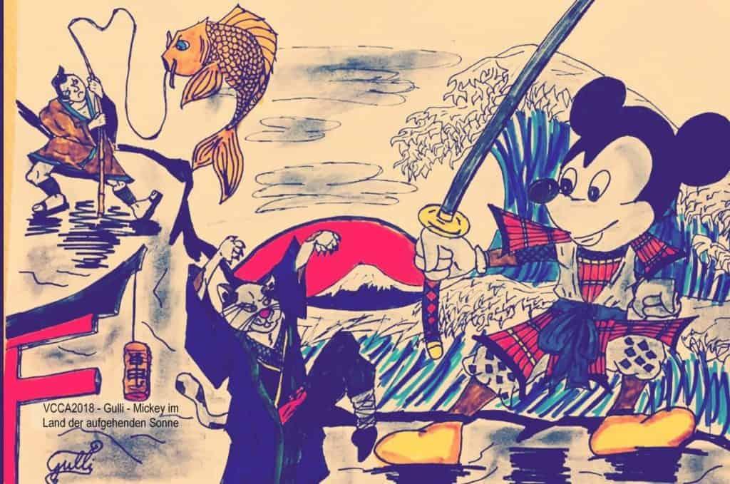 VCCA2018 - Gulli - Mickey im Land der aufgehenden Sonne