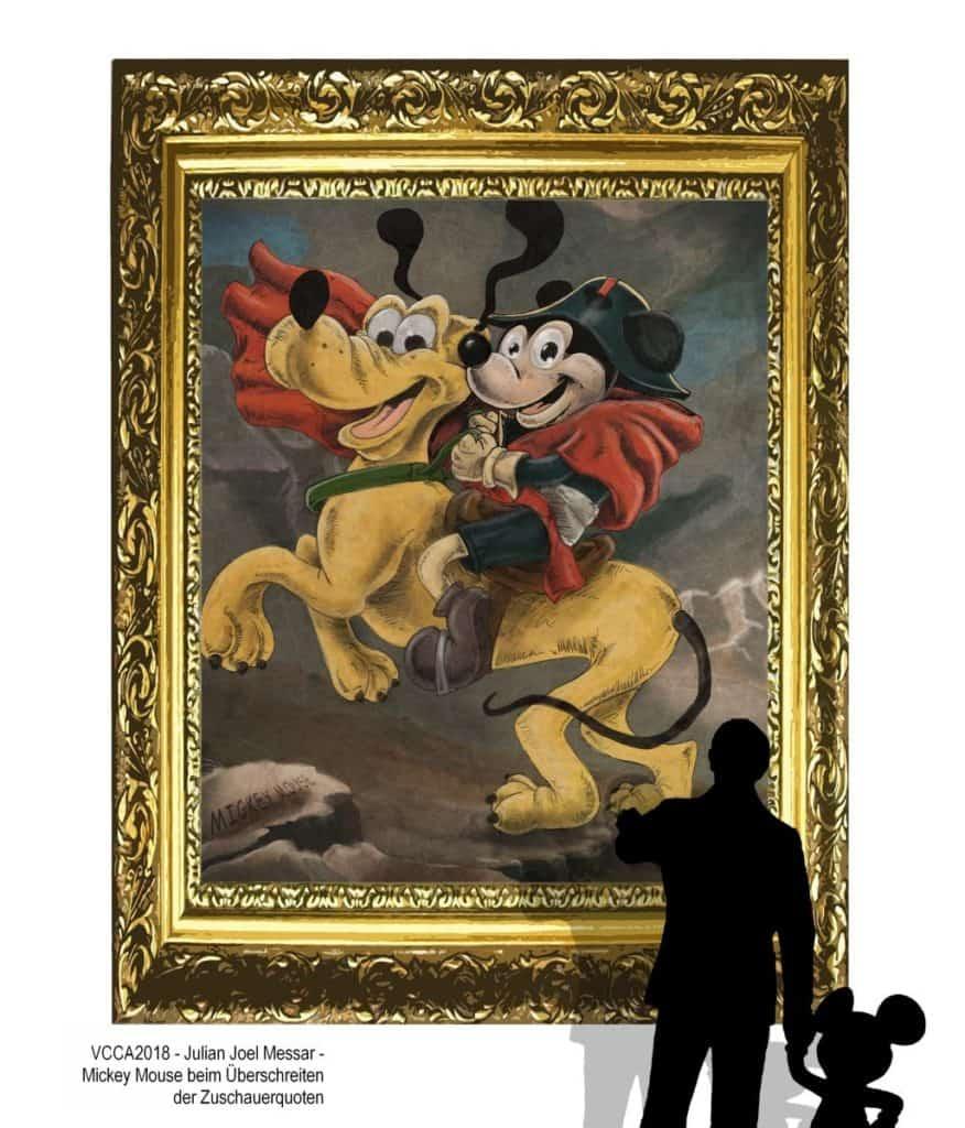 VCCA2018 - Julian Joel Messar - Mickey Mouse beim Überschreiten der Zuschauerquoten