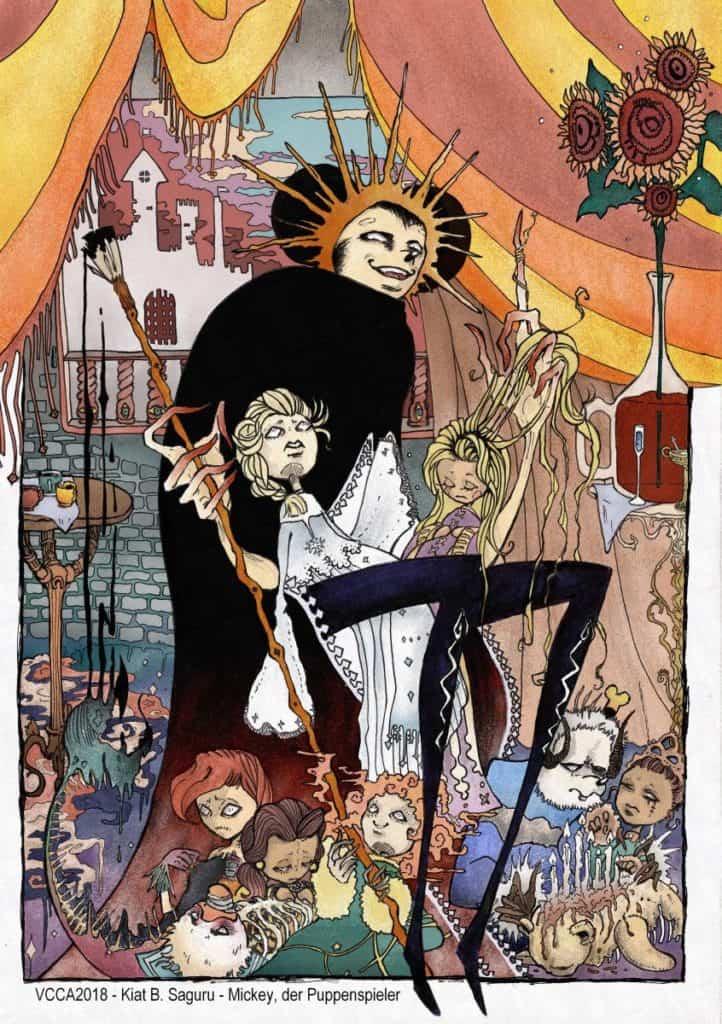 VCCA2018 - Kiat B. Saguru - Mickey, der Puppenspieler