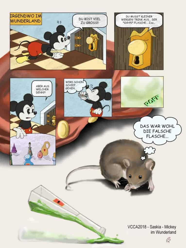VCCA2018 - Saskia - Mickey im Wunderland