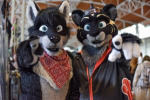 Furrys auf der Vienna COMIX. Foto JoannaPianka