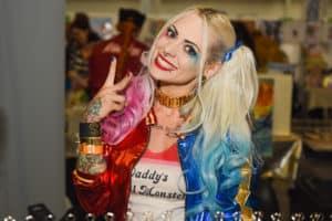 Harley Quinn auf der Vienna COMIX. Foto Karolina Doda
