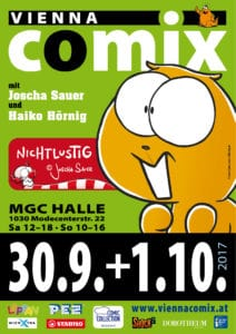 Vienna COMIX Sept-Okt 2017 Flyer