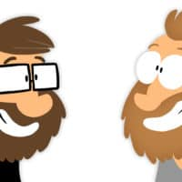 Haiko Hörnig und Joscha Sauer - Comicfiguren