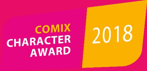 COMIX Character Award 2018 Logo