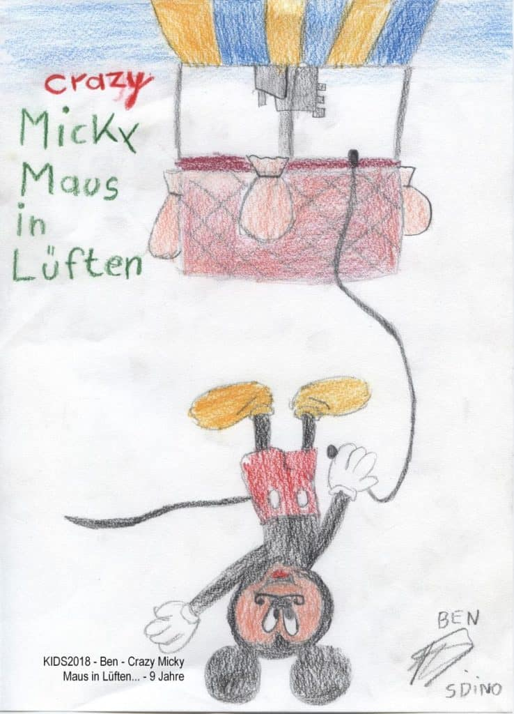 KIDS2018 - Ben - Crazy Micky Maus in Lüften... - 9 Jahre