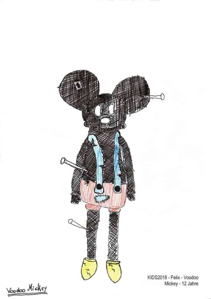KIDS2018 - Felix - Voodoo Mickey - 12 Jahre
