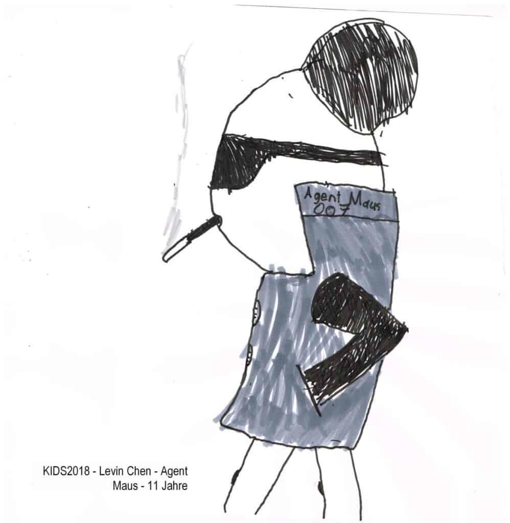 KIDS2018 - Levin Chen - Agent Maus - 11 Jahre