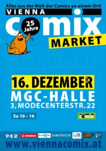 Vienna COMIX MARKET 2018 Dezember