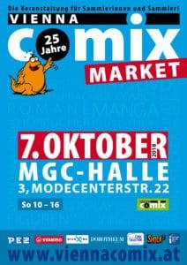 Vienna COMIX MARKET 2018 Oktober