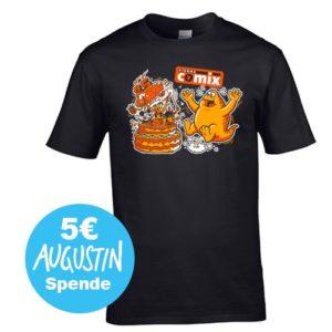 T-Shirt 25 Jahre Vienna COMIX von Michael Hacker