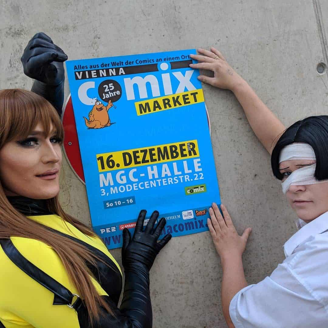 COMIX MARKET 16. Dezember 2018. Foto Roberto Giunta