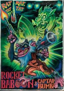 1. Platz Award Bild Bernie Luther - Rocket Baboon