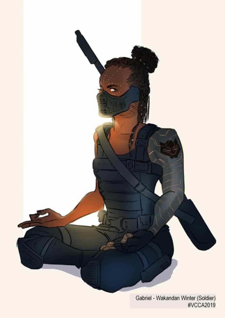 Gabriel - Wakandan Winter (Soldier) #VCCA2019