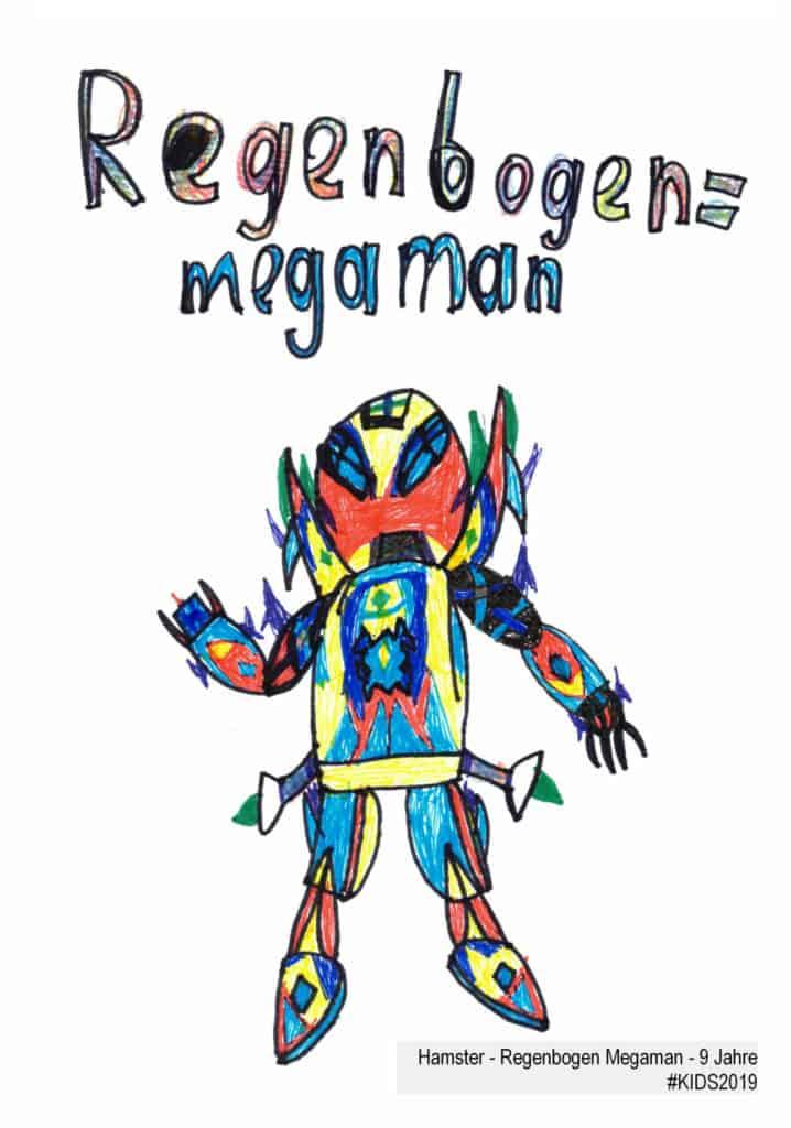 Hamster - Regenbogen Megaman - 9 Jahre #KIDS2019
