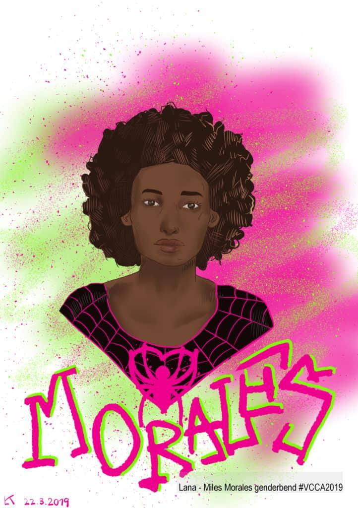 Lana - Miles Morales genderbend #VCCA2019