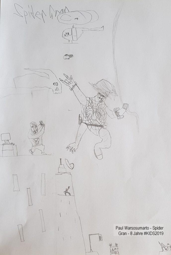 Paul Warsosumarto - Spider Gran - 8 Jahre #KIDS2019