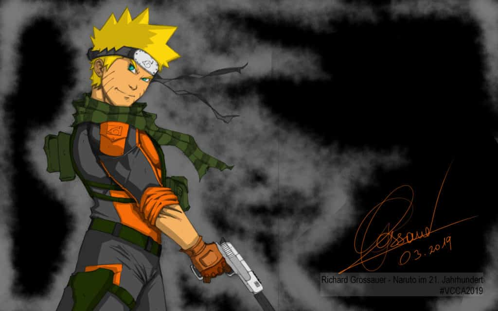 Richard Grossauer - Naruto im 21. Jahrhundert #VCCA2019