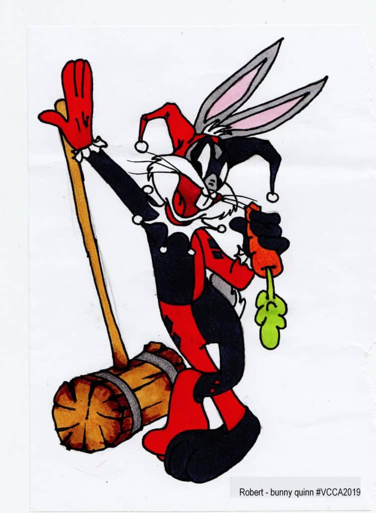 Robert - bunny quinn #VCCA2019