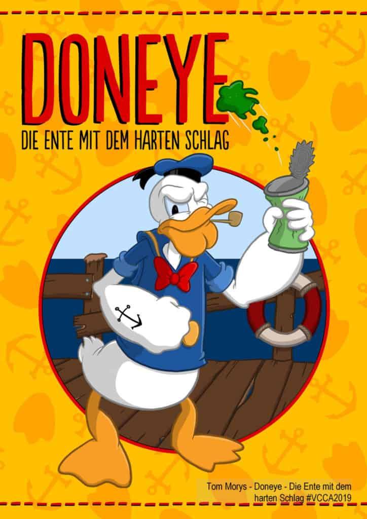 Tom Morys - Doneye - Die Ente mit dem harten Schlag #VCCA2019