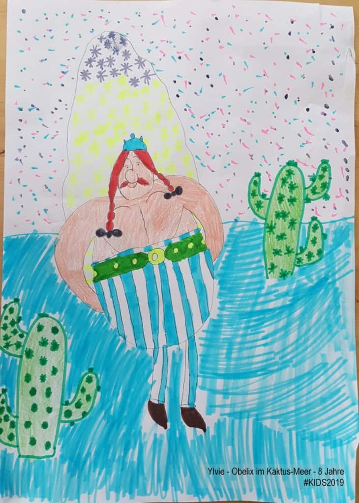 Ylvie - Obelix im Kaktus-Meer - 8 Jahre #KIDS2019